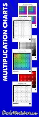 27 Precise Multiplication Chart 50x50 Printable