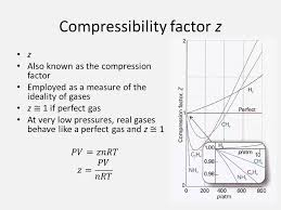 compressibility factor. compressibility factor z
