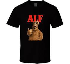 alf tv show retro t shirt tee gift tasty cat ufo edy series alien new from us