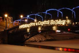 Albany Lights In The Park Walk File Capital Holiday Lights Bridge Jpg Wikipedia