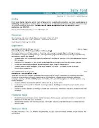 Resume Profile Section Examples Resume Resume Profile Section 7