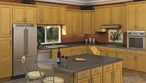 Small Picture Captivating Oak Kitchen Cabinets Charming Home Design Plans with