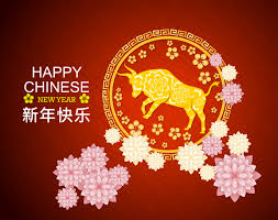 It is a year of the ox. Happy Chinese New Year 2021 Red Greeting Download Free Vectors Clipart Graphics Vector Art