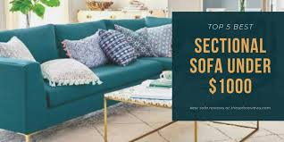 top 5 best sectional sofa under 1000