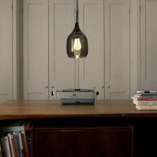decode lighting. Vessel Pendant Lamp, Smoked Grey. Decode Lighting