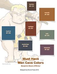 Must Have Man Cave Colors
