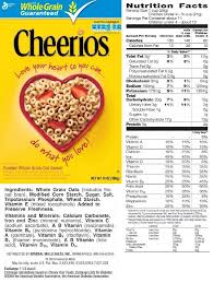 station 10 nutrition fact label mrs greene 039 s cl