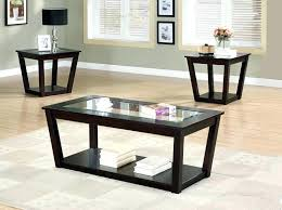 round coffee table with matching end tables black end tables and coffee table black round coffee