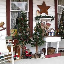 Fresh Awesome Christmas Porch Decorating Ideas On All With Unusual Ou