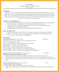Financial Assistant Resume Senior Executive Assistant Resume ...