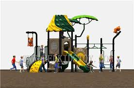 exported to canada natural theme outdoor playground structure with monkey bar hz c003
