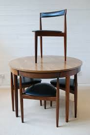 Hans Olsen Frem Rojle Dining Table And 4 Chairs Danish Retro Mid