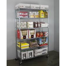 chrome  shelves  shelf brackets  storage  organization  the