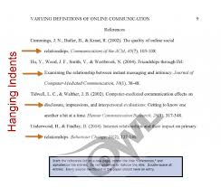 Reference Citation Format Term Paper Example