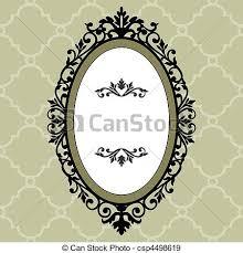 antique oval frame ornate. Contemporary Antique Decorative Oval Vintage Frame  Csp4498619 On Antique Oval Frame Ornate T