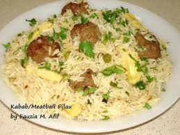 fauzia kitchen fun chicken pilau. kabab/meatball pilau fauzia kitchen fun chicken u