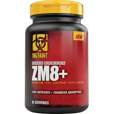 mutant zm8 90 capsules testosterone support