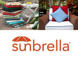 patio cushions sunbrella fabrics waterproof resistant custom