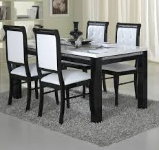 dining room pretty inspiration ideas black and white dining chairs 19 from black and white
