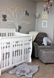 modern grey baby nursery 1 16 pottery barn plush elephant rug