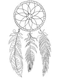 History Of Dream Catchers For Kids Free Printable Dream Catcher Coloring Page The Graphics Fairy 82