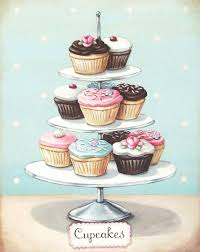 vintage cupcakes drawing. Beautiful Cupcakes Vintage Cupcakes Drawing On Pinterest