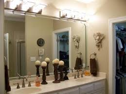 bathroom above mirror lighting. Bathroom Mirror And Lighting Ideas - Cumberlanddems.us Above