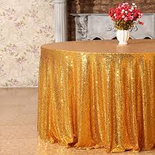 3e home 108 inch round sequin tablecloth for party cake dessert table exhibition events