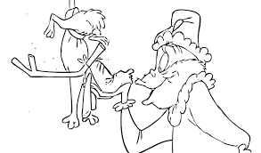How The Grinch Stole Christmas Coloring Pages How The Stole Coloring