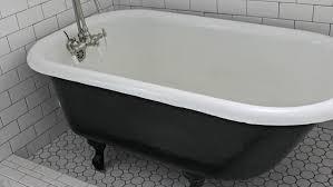 painting a cast iron bath using the correct cast iron bath paint diy doctor