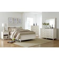 white furniture in bedroom. Ellsworth 4-Piece King Bedroom Set - White Furniture In