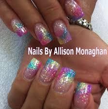 Acrylic Nails By Allison Nehty Ty Barvičky Nápady Na Nehty