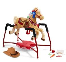Build Your Own Flyer Riding Horse Toy Build A Horse Radio Flyer