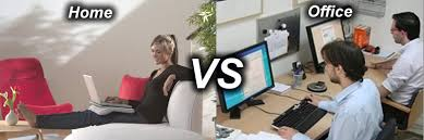 work for the home office. working from home vs the office which will work for you