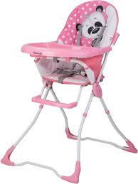 Toyhouse Baby High Chair Pink Panda (Pink) - Buy Care Products in
