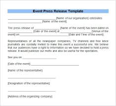 Templates For Press Releases Press Release Email Template How To Make Music Free