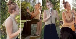 Miley Cyrus Video Miley Covers Dolly Partonu0027s Jolene VIDEOBackyard Sessions Jolene