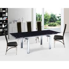 modern extendable glass dining tables for contemporary dining room decoration modern living room decoration with