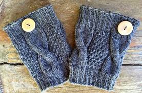Boot Cuff Pattern Inspiration Simple Cable Knit Boot Cuffs Simply Notable