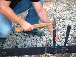diy metal lawn edging. how to install edging around your patio diy metal lawn