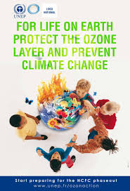 earth out ozone is like a house out a roof save ozone for life on earth protect the ozone layer and prevent climate change world ozone day
