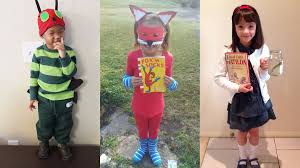 kids costume ideas for book week 2018