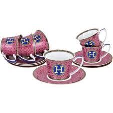 <b>Чайный набор Lefard</b> HERMES бордо на 6 персон 12 предметов ...
