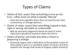 the argument essay modes of organization what is argument a  types of claims claims of fact assert that something is true or not true