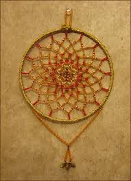 Beaded Dream Catchers Patterns beaded dreamcatcher Pattern from Sun Catchers Beaded Jewelry by 71