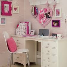 bedroom teen room decoration using white desk and chair combine of including desks for girls images