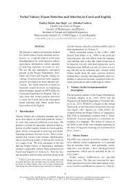 pdf verbal valency frame detection and selection in czech and english