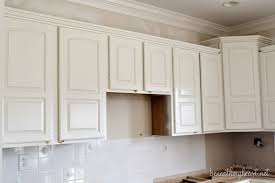 paint cabinets whitePainting Kitchen Cabinets White  Beneath My Heart