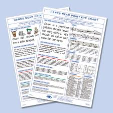 Near Vision Reading Chart Near Reading Charts N Bernell Corporation