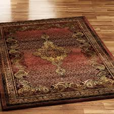 the best and cozy area rug sizes for your living room decor red traditional area